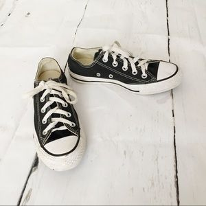 Converse All Star Black White Tennis Shoes Size 6